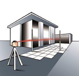 Nivele cu laser rotativ