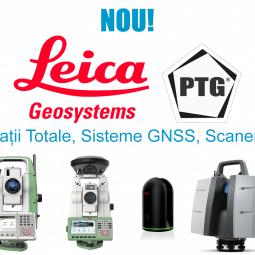Statii Totale, Sisteme GNSS, scanere Leica si accesorii