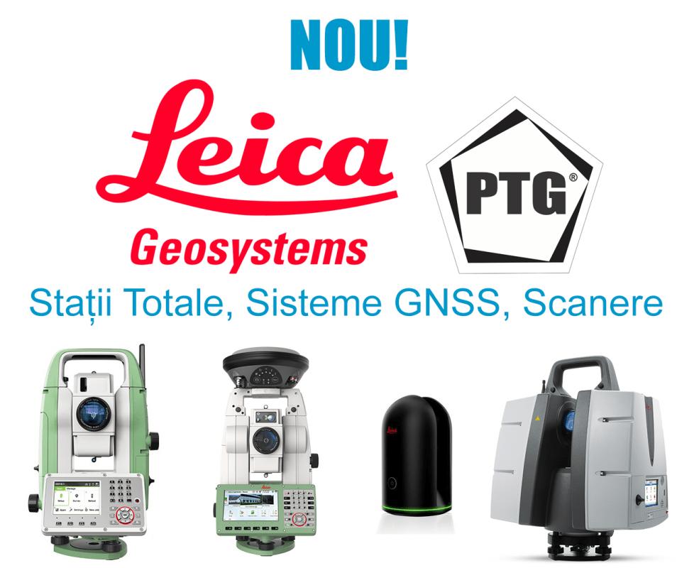 Nou în gamă - Stații Totale, Sisteme GNSS, Scanere - Leica Geosystems