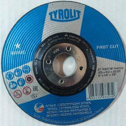 Discuri abrazive pentru polizat metal-inox 2in1