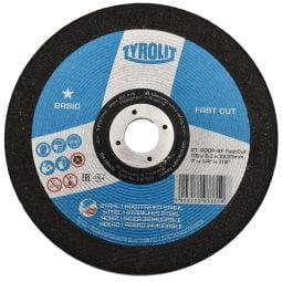 Disc abraziv pentru polizat metalinox 2in1 178x6x22_23 Basic FAST CUT