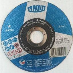 Discuri abrazive taiat metal-inox 2in1