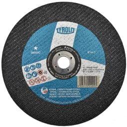 Disc abraziv pentru taiat metalinox 2in1, 230x2x22_23 Basic