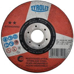 Disc abraziv pentru polizat inox 125x6x22_23 Standard