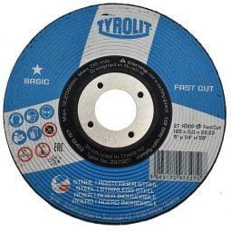 Disc abraziv pentru polizat metalinox 2in1 125x6x22_23 Basic
