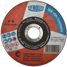Disc abraziv pentru taiat inox 125x1x22_23 Standard
